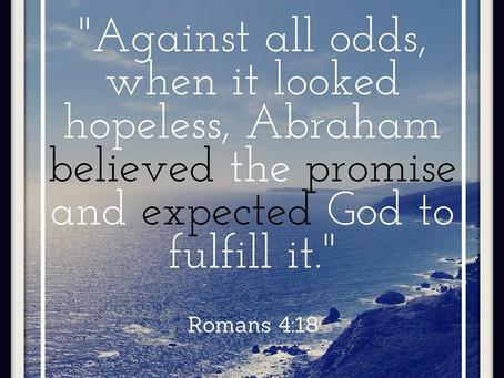 Worldly hope vs Heavenly hope.