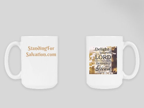 Delight in the Lord Mug