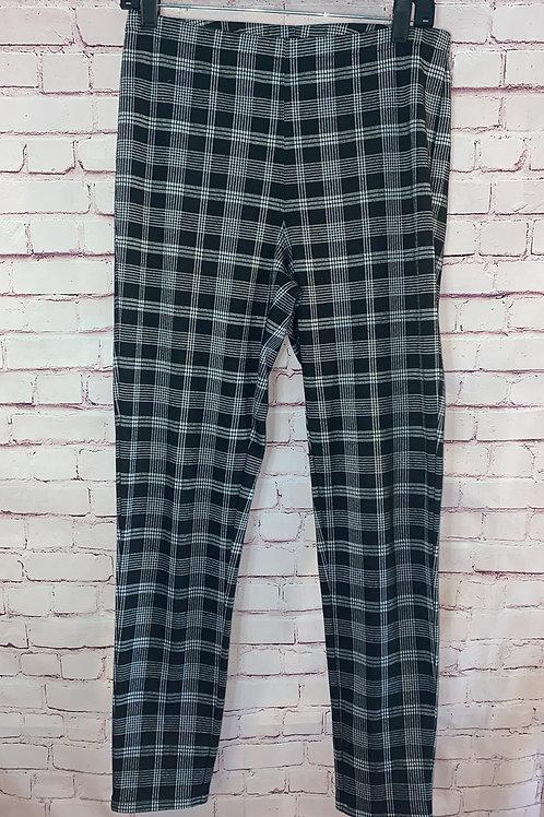 Plaid Legging Pants