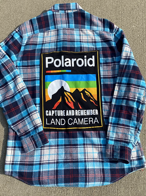 Polaroid Reworked Flannel
