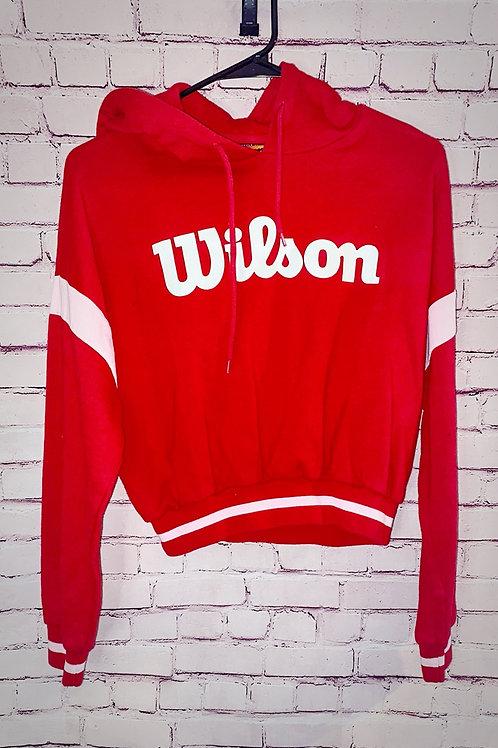 Wilson Cropped Sweatshirt