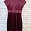 Thumbnail: Burgandy Velvet Dress