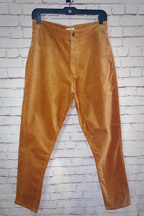 Orange Skinny Pants