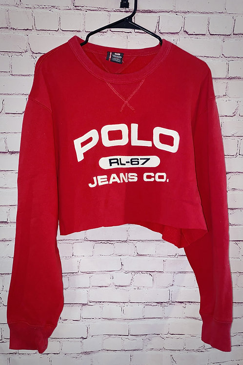 Polo Jean Co. Cropped Hoodie