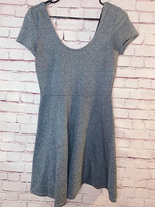 Grey A Line Dress