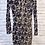 Thumbnail: Navy Velvet Floral Dress