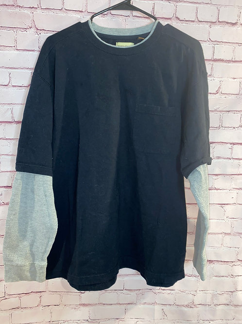Long Sleeve/ Short Sleeve Connected Top