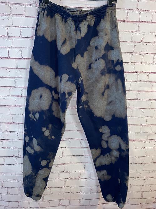 Bleached Navy Sweatpants 11