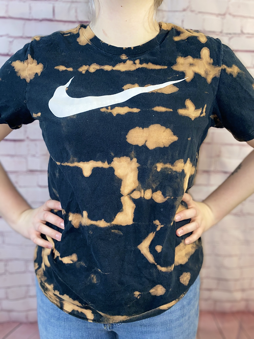 Black Nike Bleached Tshirt