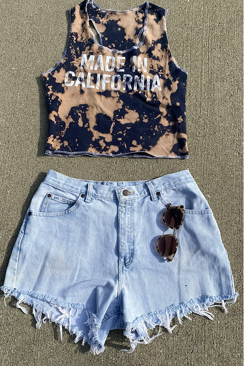 Made in California Reworked Tank Top