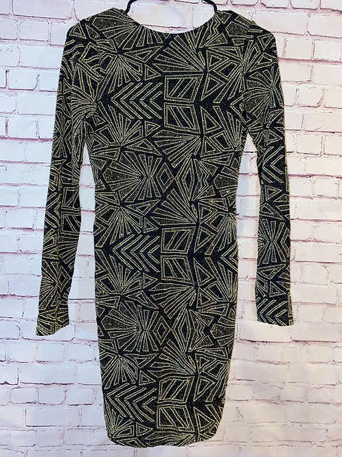 Abstract Sparkle Dress