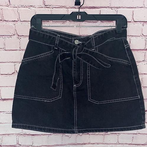 Contrast Stitch Skirt