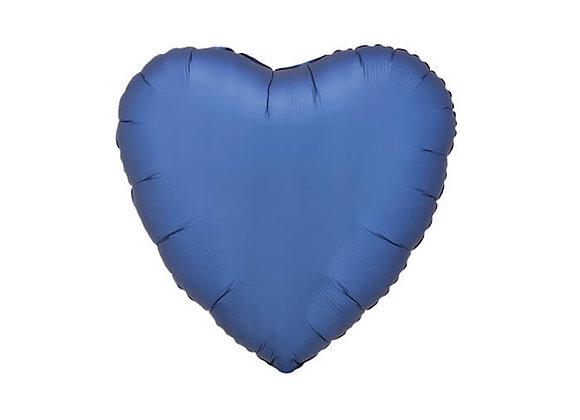 בלון מיילר-לב כחול מט
