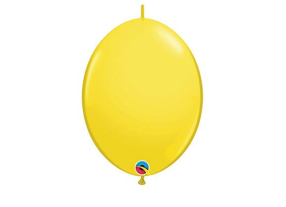שקית של בלונים לשרשרת- בגודל רגיל - Yellow