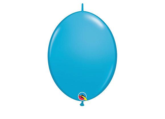 שקית של בלונים לשרשרת- בגודל רגיל - Robin egg Blue