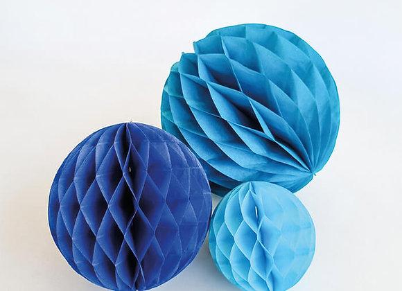 עיגולי כוורת כחולים
