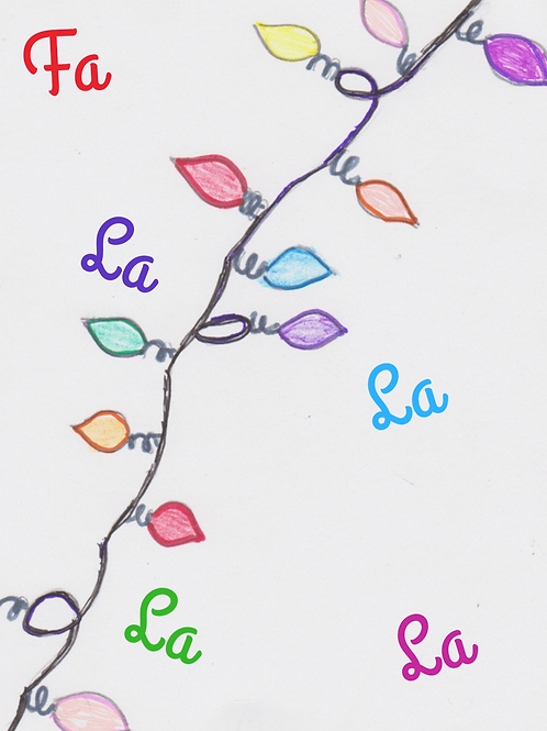 Reigna's Christmas Card - Set of 10