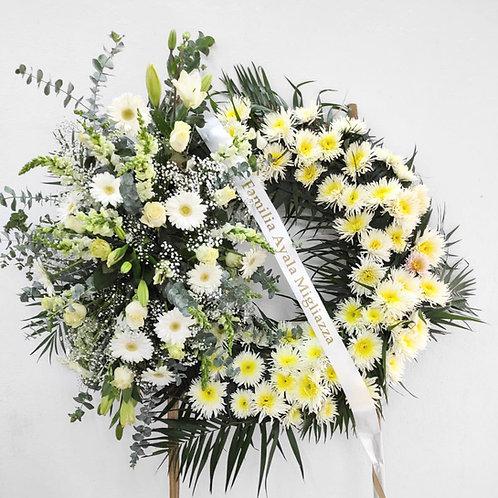 Corona fúnebre armonía