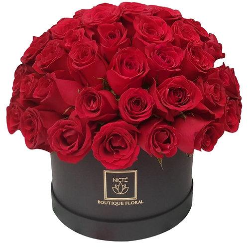 Caja de 100 rosas