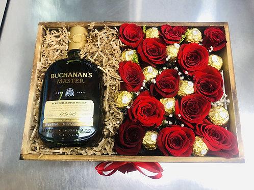 Whisky en las flores