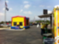 Bounce House, GMC, Buick, Kids, car dealership