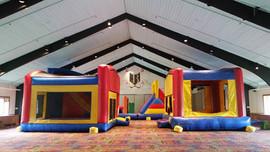 Indoor Bounce House,Boyne Highlands, Mic