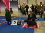 Malla`s first show, puppy show