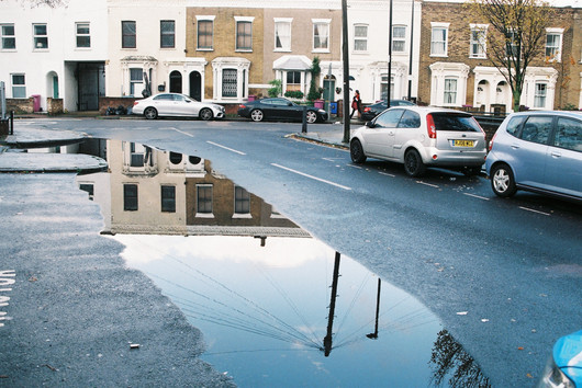 Puddle and walker