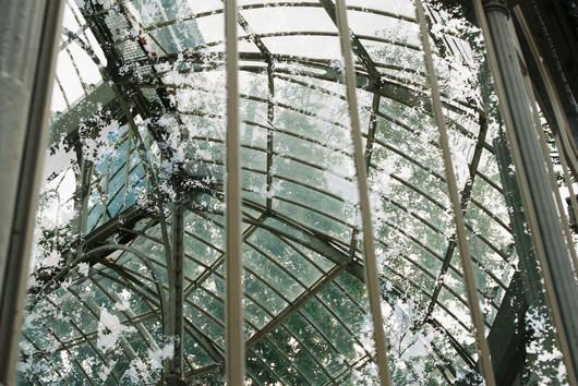 Glass house, Madrid, 2