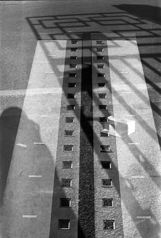 High rise / shadow (double exposure)