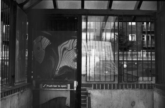 Fire door reflections