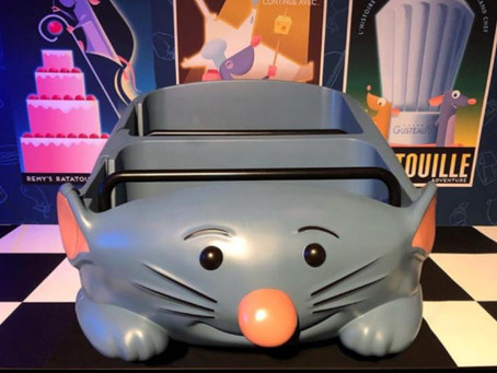 Remy's Ratatouille Adventure Ride Vehicle Sneak Peak