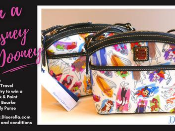 Win A Disney Dooney & Bourke Purse from Diserella Travel!