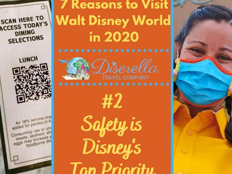 7 Reasons to Visit Walt Disney World in 2020 - #2 Safety is Disney's Top Priority