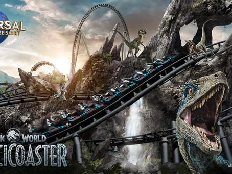 Jurassic World VelociCoaster Coming Summer 2021!