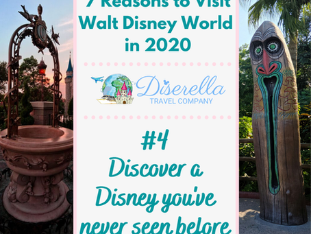 7 Reasons to Visit Walt Disney World in 2020...#4 Discover a Disney World You've Never Seen Before