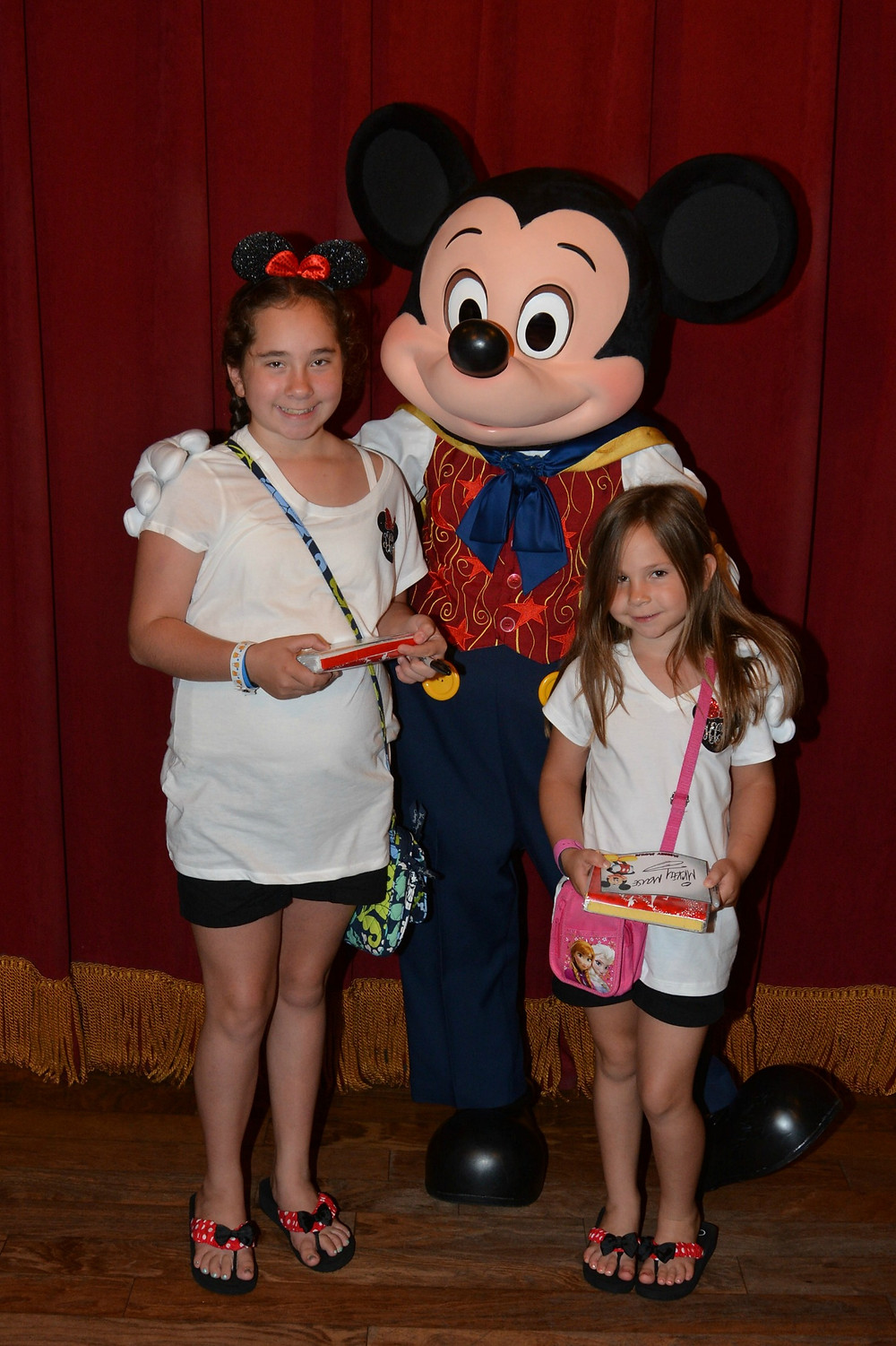 Talking Mickey Mouse Meet and Greet