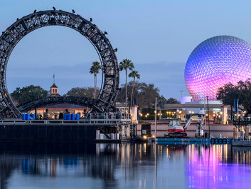 The World is Coming Together As Work Continues on 'Harmonious' at EPCOT