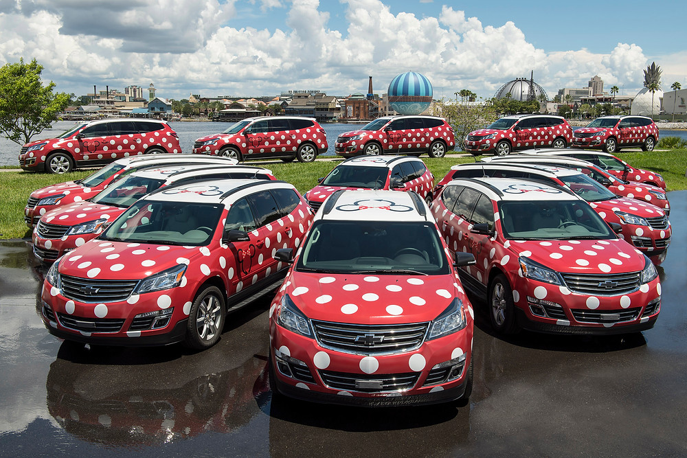 Minnie Vans at Walt Disney World