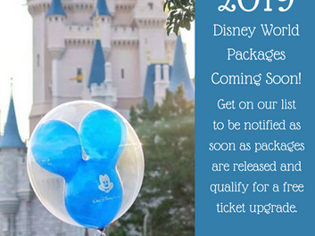 Walt Disney World 2019 Packages Available Soon