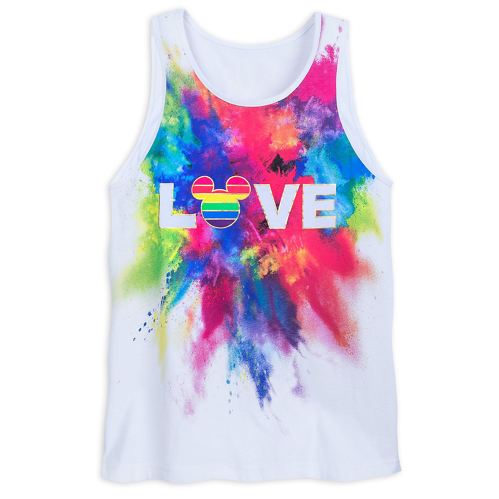 Rainbow Mickey Collection Tank Top for Adults shopDisney