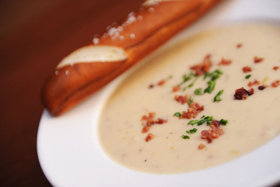 Le Cellier Cheddar Cheese Soup Recipe