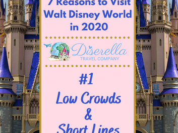 7 Reasons to Visit WDW in 2020 - #1 Low Crowds & Short Lines