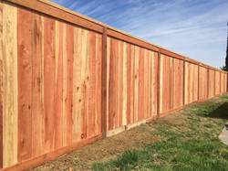 Redwood Fence Picture Frame with Cap1