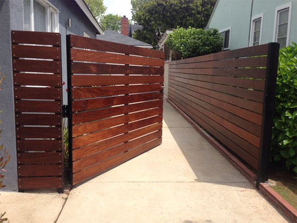 Horizontal Single Gate