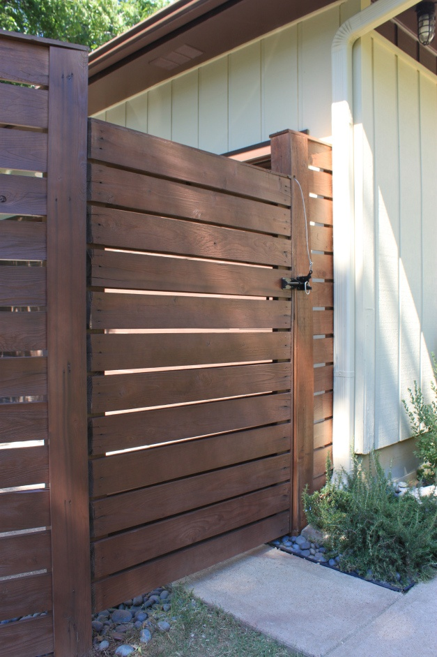 Horizontal Wood Gate