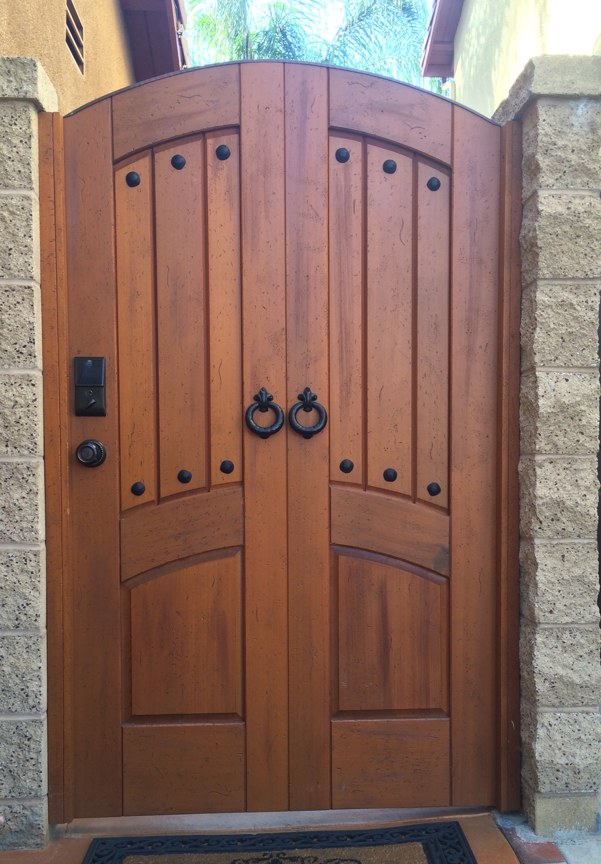 Custom Premium Wood Gate
