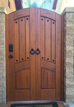 Custom Premium Wood Gate