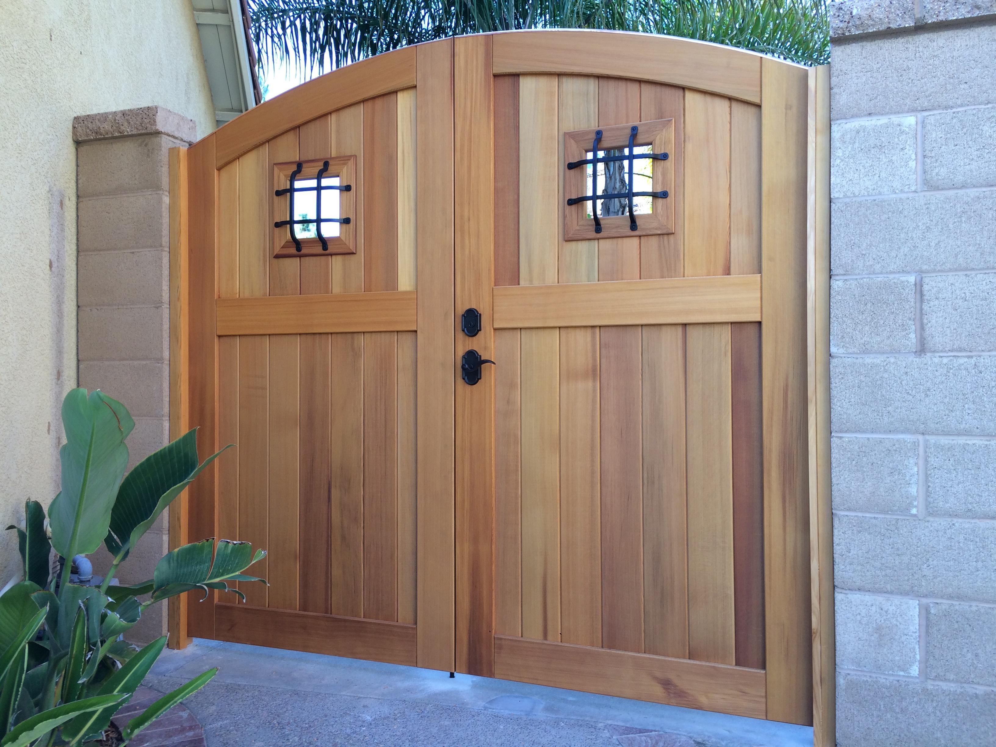 Premium Wood Gate