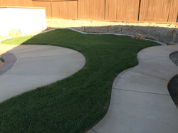 Concrete/Cement with Broom Finish